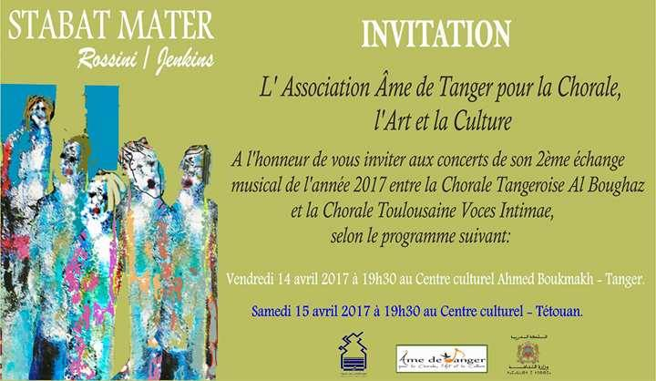 Invitation concert tanger